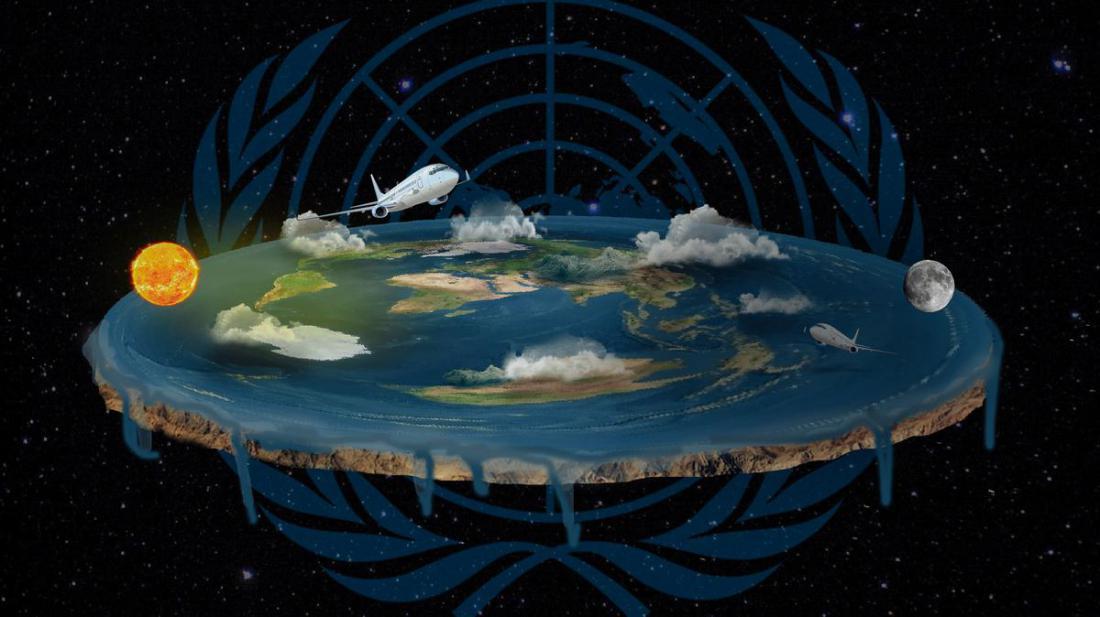 Почему считают, что земля плоская?