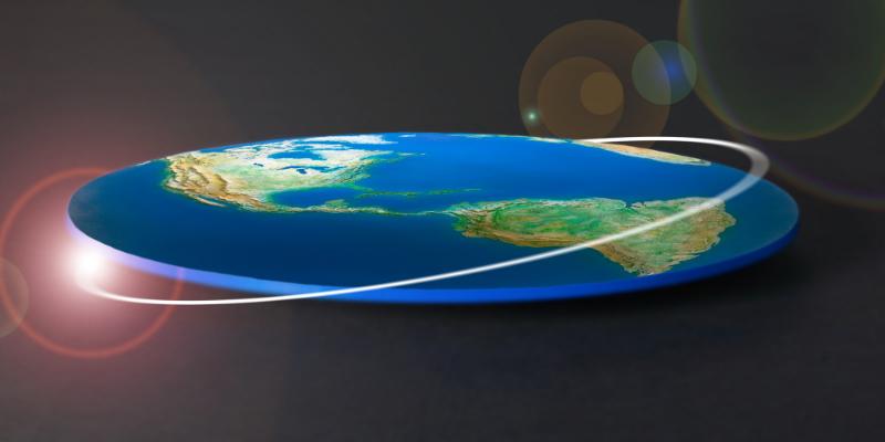 Земля в форме диска: библейские представления