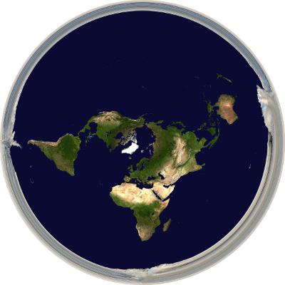 Ассоциация плоской земли - логотип